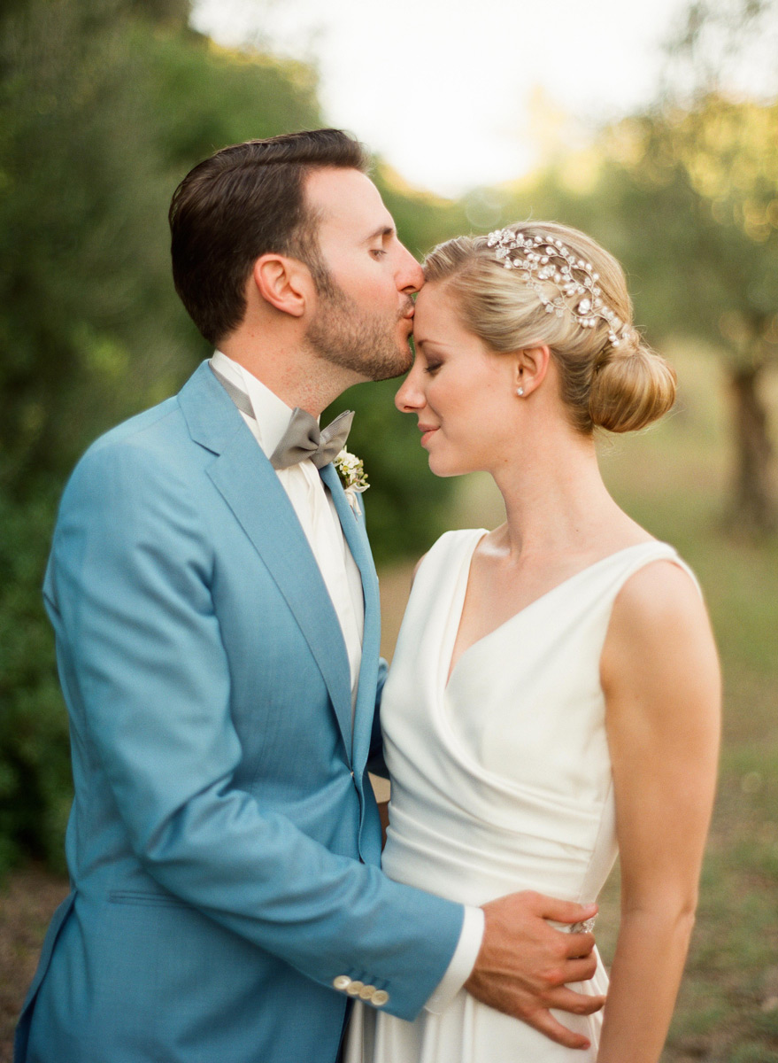 Style Me Pretty: An Elegant Tuscan Wedding, Gini and Jack