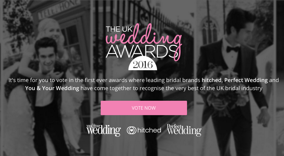 The UK Wedding Awards, vote for Hermione Harbutt!