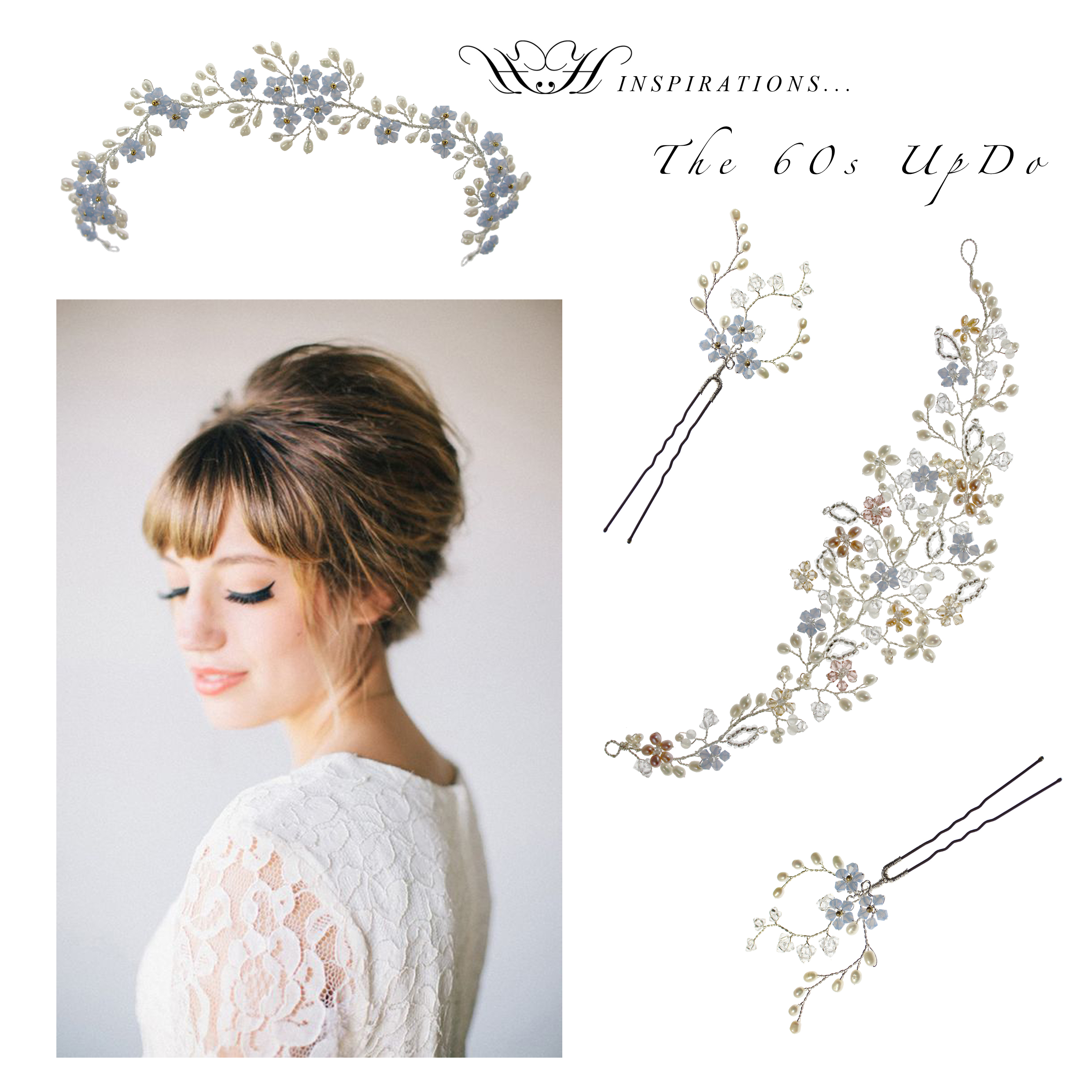 Wedding Hair Inspirations - The Fringes! - Wedding Hair Accessories