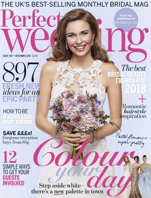 Press: Perfect Wedding December Issue
