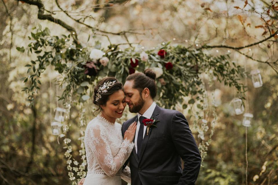 Forest Elopement Shoot