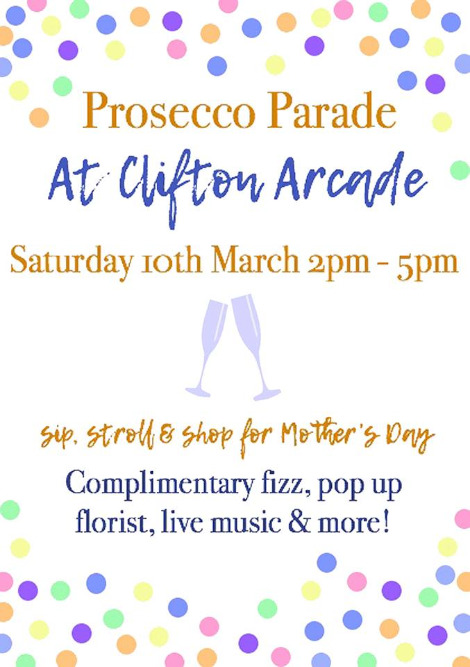 Mother's Day Prosecco Parade!