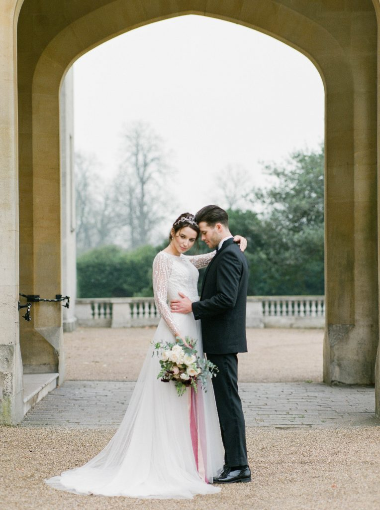 intimate wedding photography by Claire Graham
