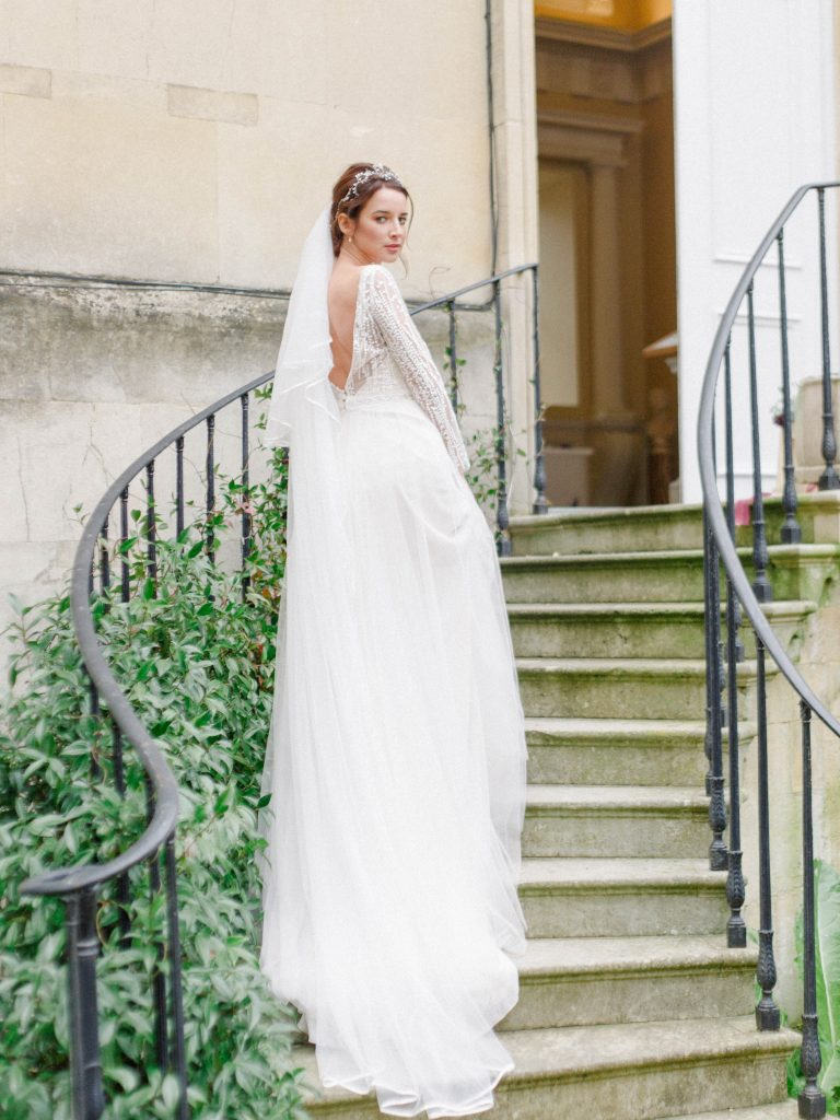 twisting staircase wedding photography venue ideas at Syon Park