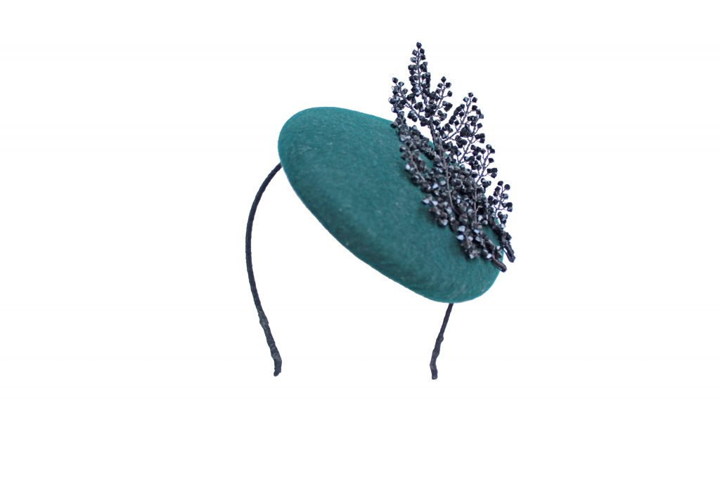 Pillbox Hat for Royal Ascot by Hermione Harbutt