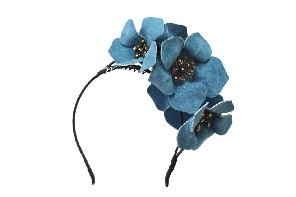 Contemporary Leather Hat for Royal Ascot by Hermione Harbutt