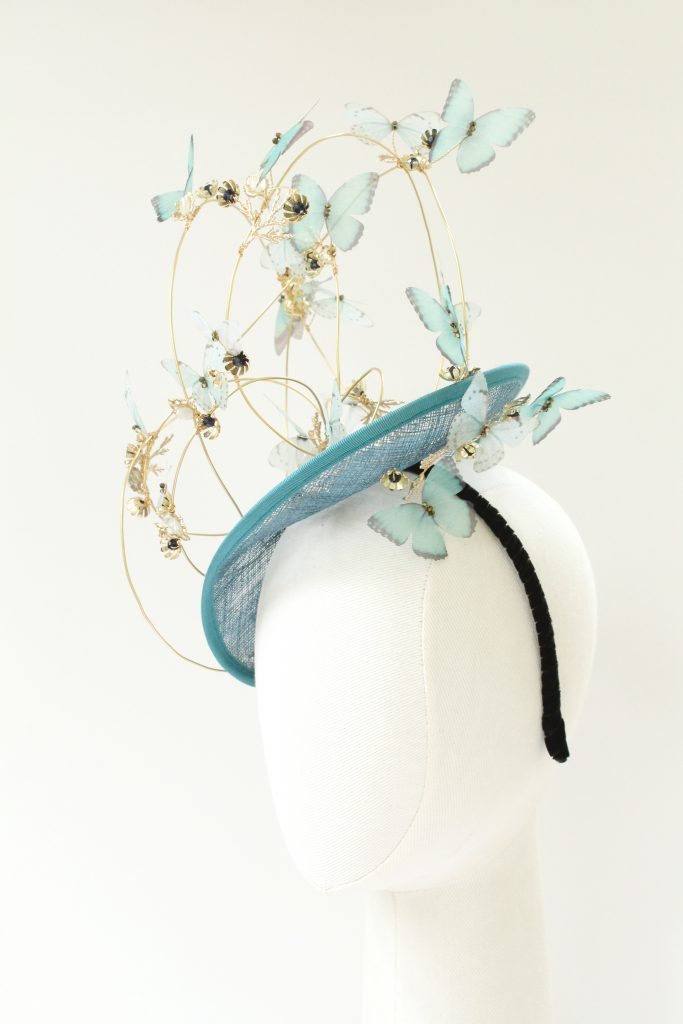 mother of the bride ascot race day hat