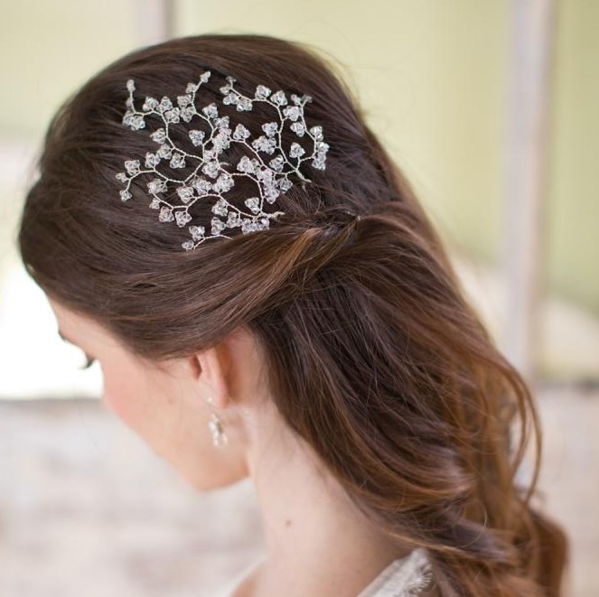 Image of Swarovski crystal hairpins - click to view