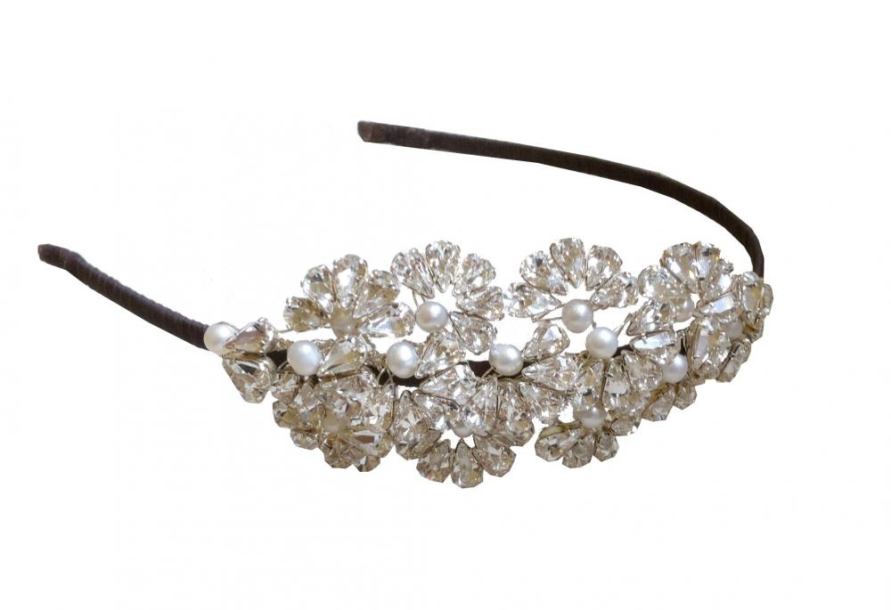 Image of Swarovski Crystal Headdress - click to view