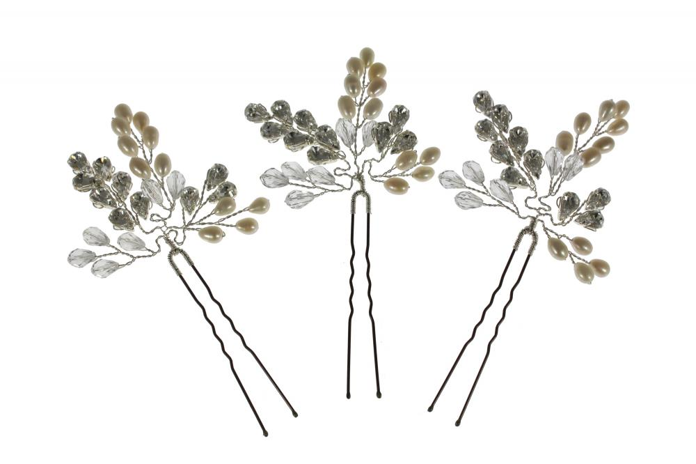 Leafy Glamour Hairpins