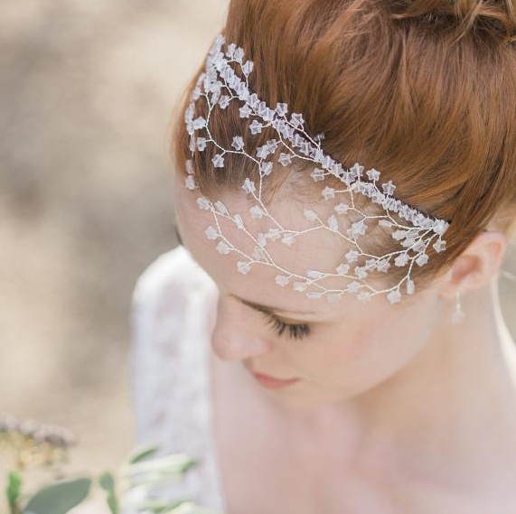 Image of Blush Galaxy Headpiece - click to view
