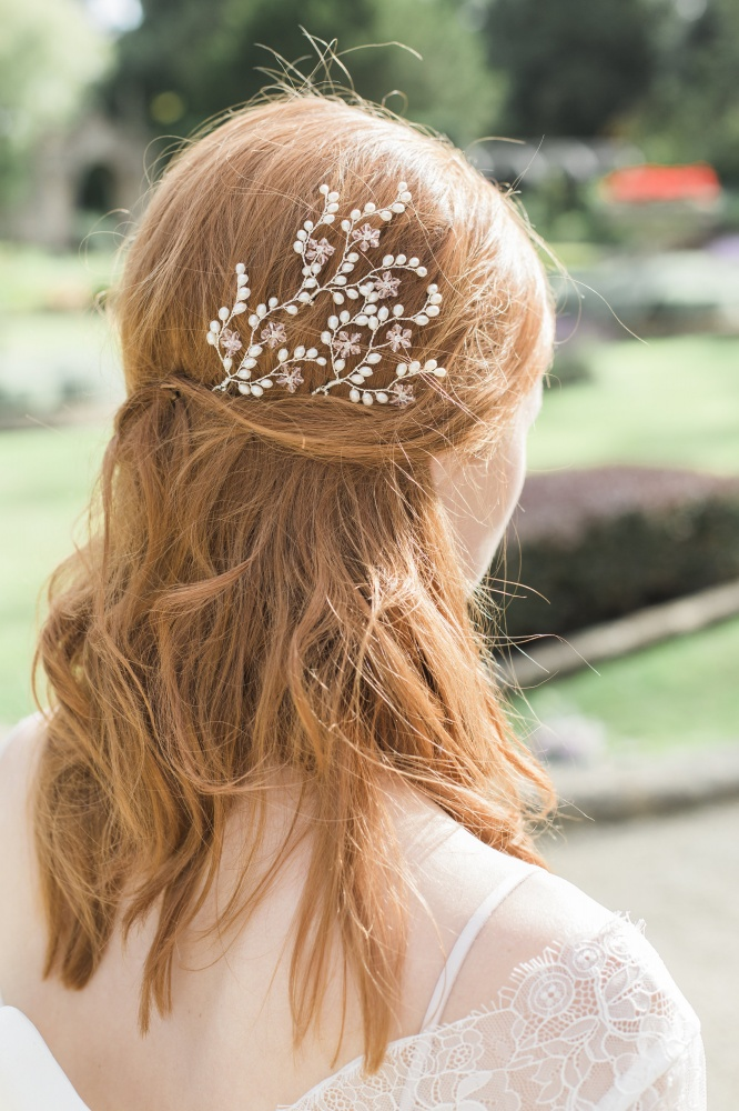 Image of Peony Hairpins - click to view