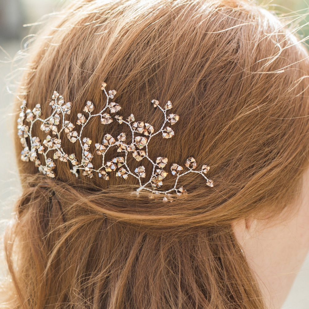 Image of Rose Gold Hairpins - click to view