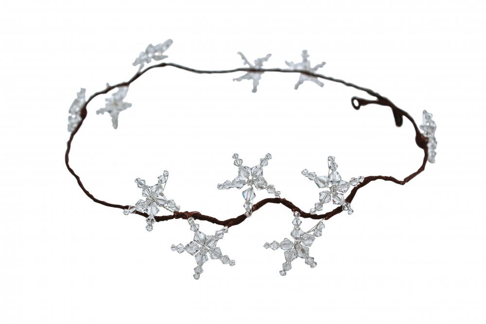 Image of star crystal garland - click to view