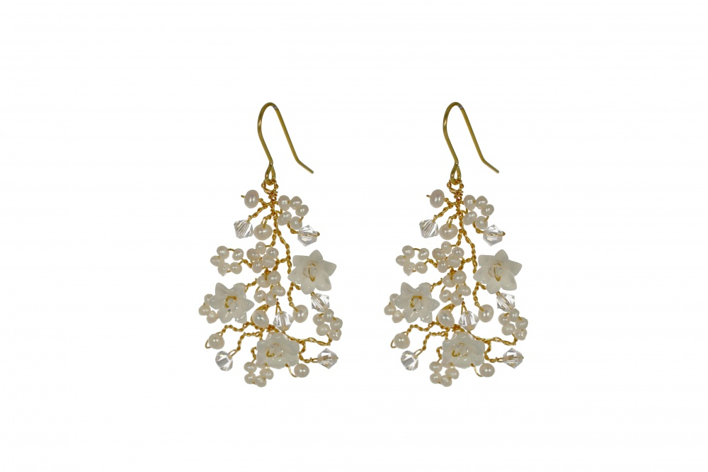 Image of Violette Chandelier Earrings - click to view